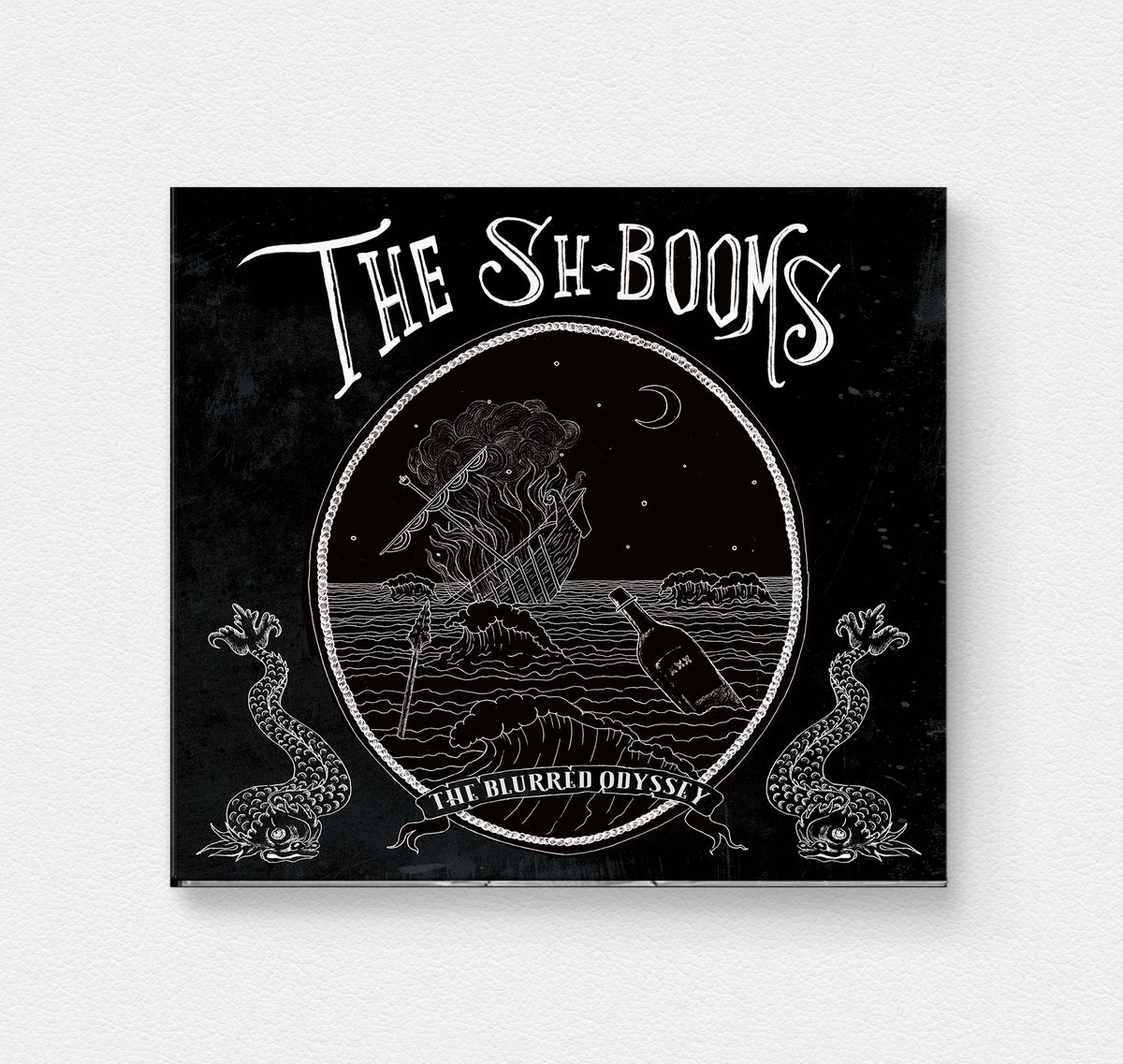 Image of The Sh-Booms 'The Blurred Odyssey' CD Digipak