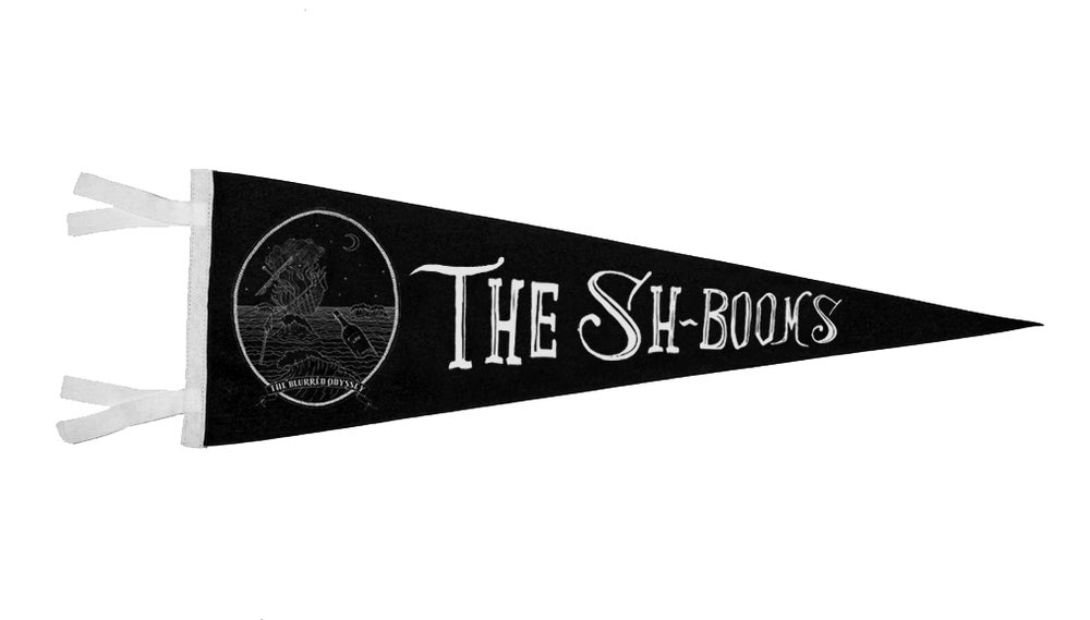 "Image of The Sh-Booms - 9x24"" Pennant"