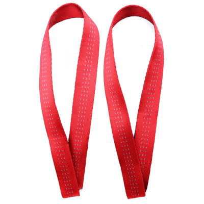 Image of Weightlifting Straps - Mismatch Black/Red - FREE SHIPPING