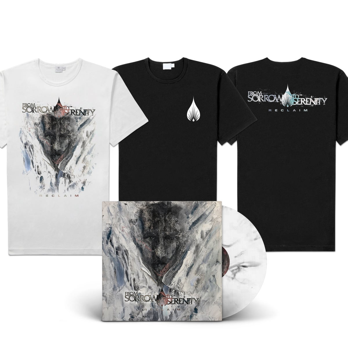 "Image of From Sorrow To Serenity ""Reclaim"" LP-Bundle"