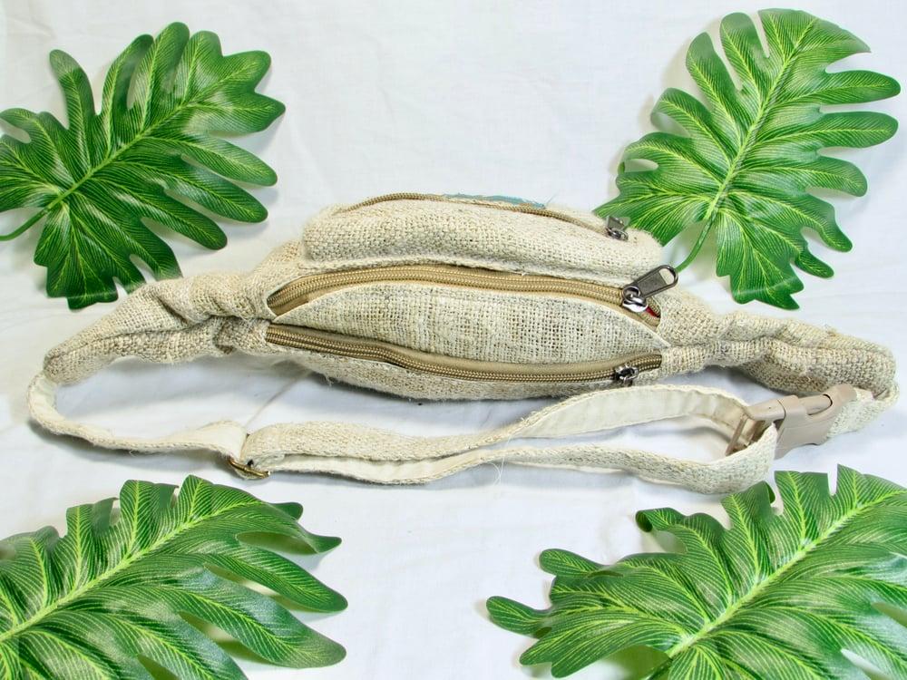 Organic Pure Hemp Bumbag | 100% Vegan | Eco Friendly | Handmade | Money Belt | Himalayan Hemp