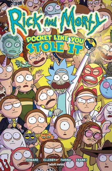 Image of Rick and Morty: Pocket Like You Stole It