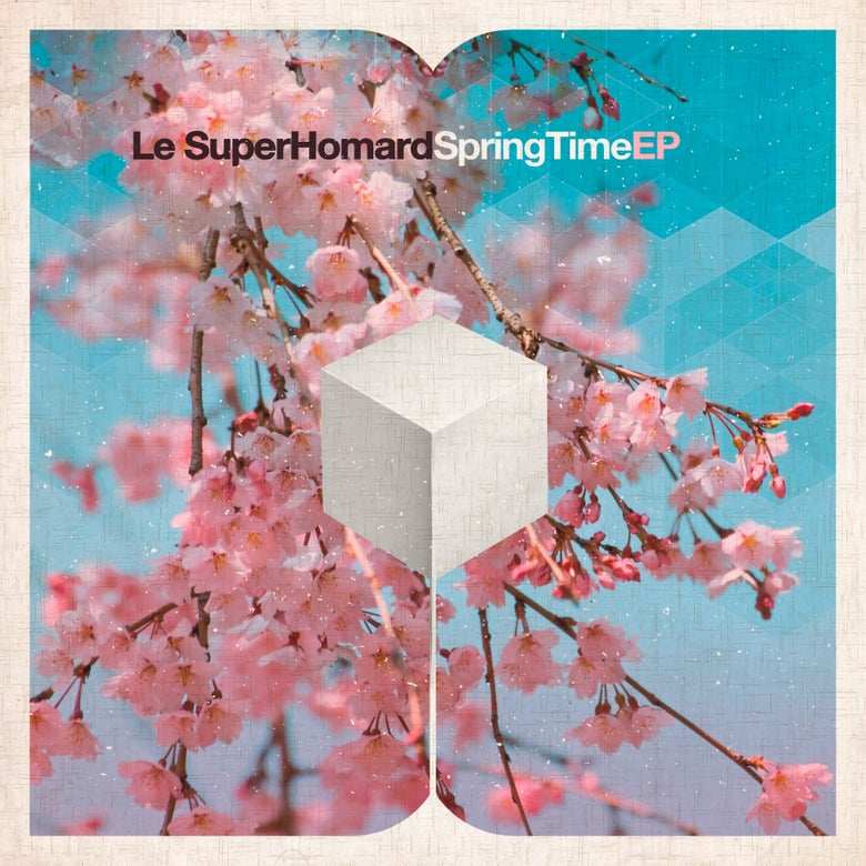 "Image of LE SUPERHOMARD - Spring Time EP (Limited edition Pink 7"" Vinyl EP w/MP3s)"