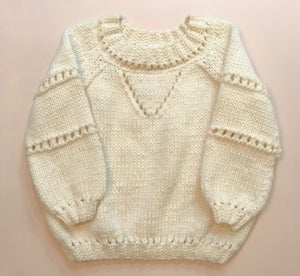 Image of -- PATRON/PATTERN -- VENUS SWEATER FR & EN