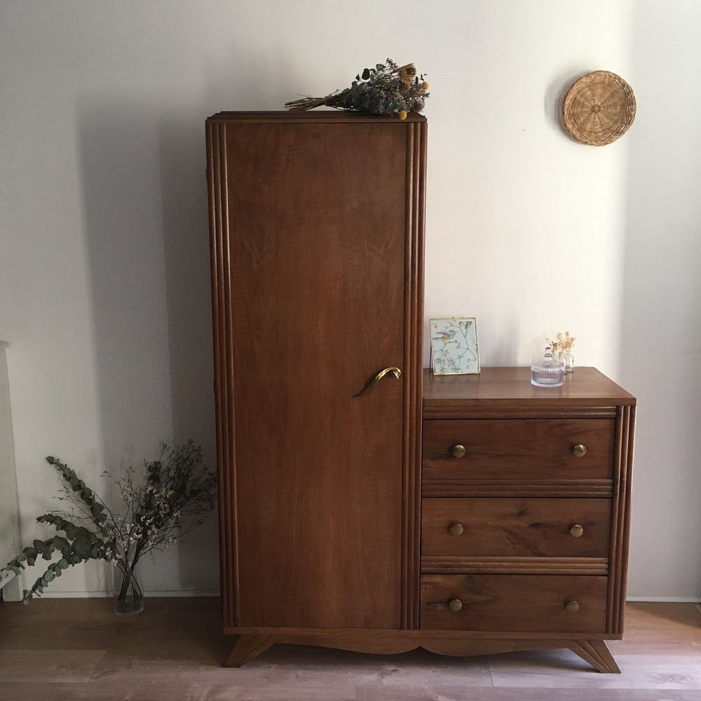 Image of Albertine, armoire commode asymétrique vintage