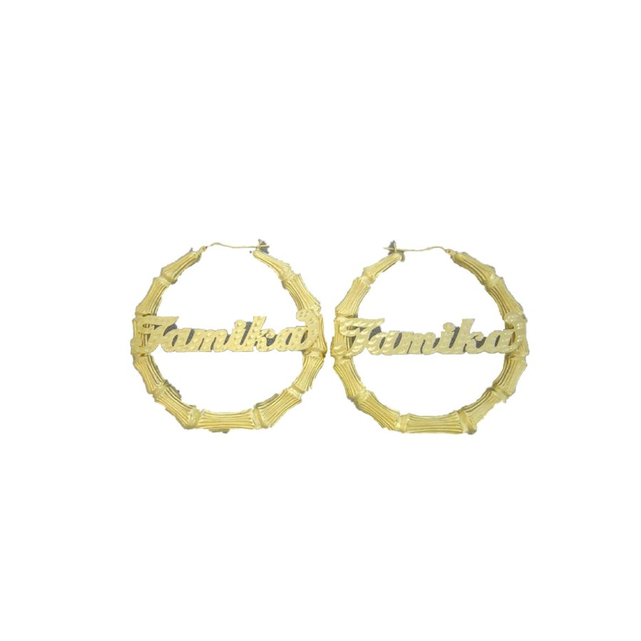 Image of Custom SOLID Gold Bamboos