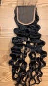 Raw Indian Lace closure w/ bundles