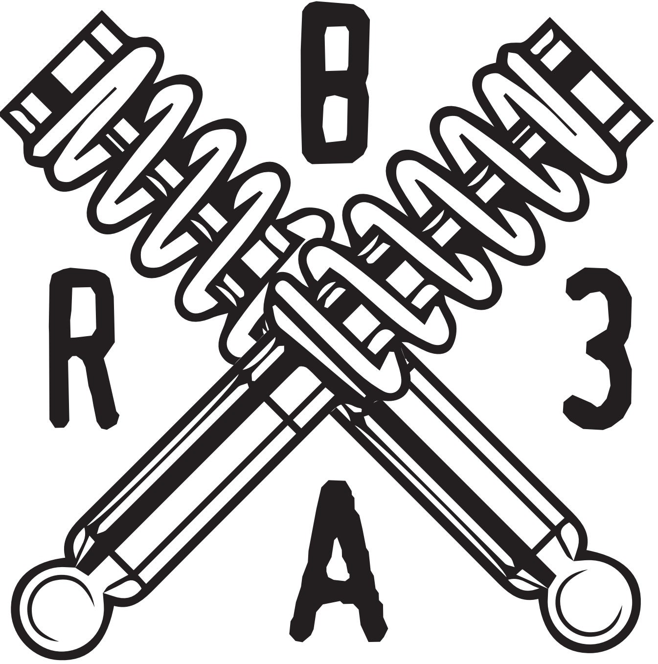 Image of Coilover B.3.A.R Sticker