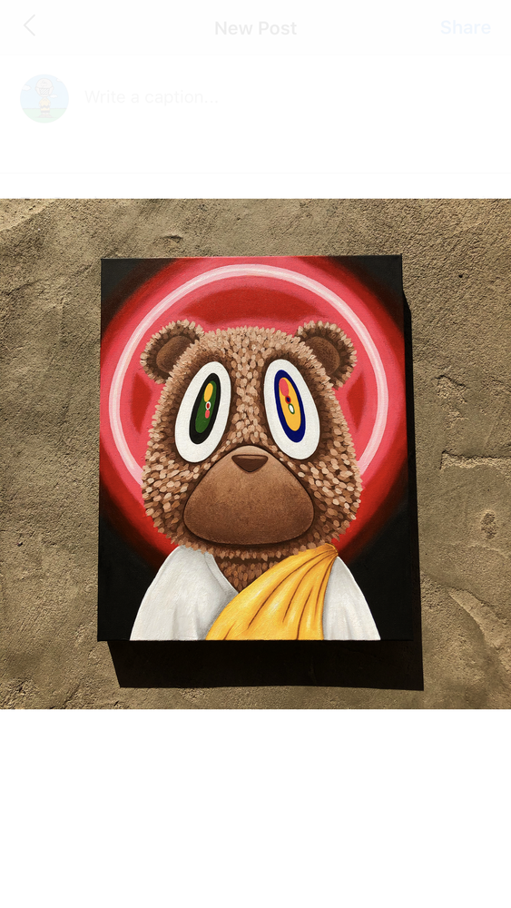 Image of Yeezus Bear