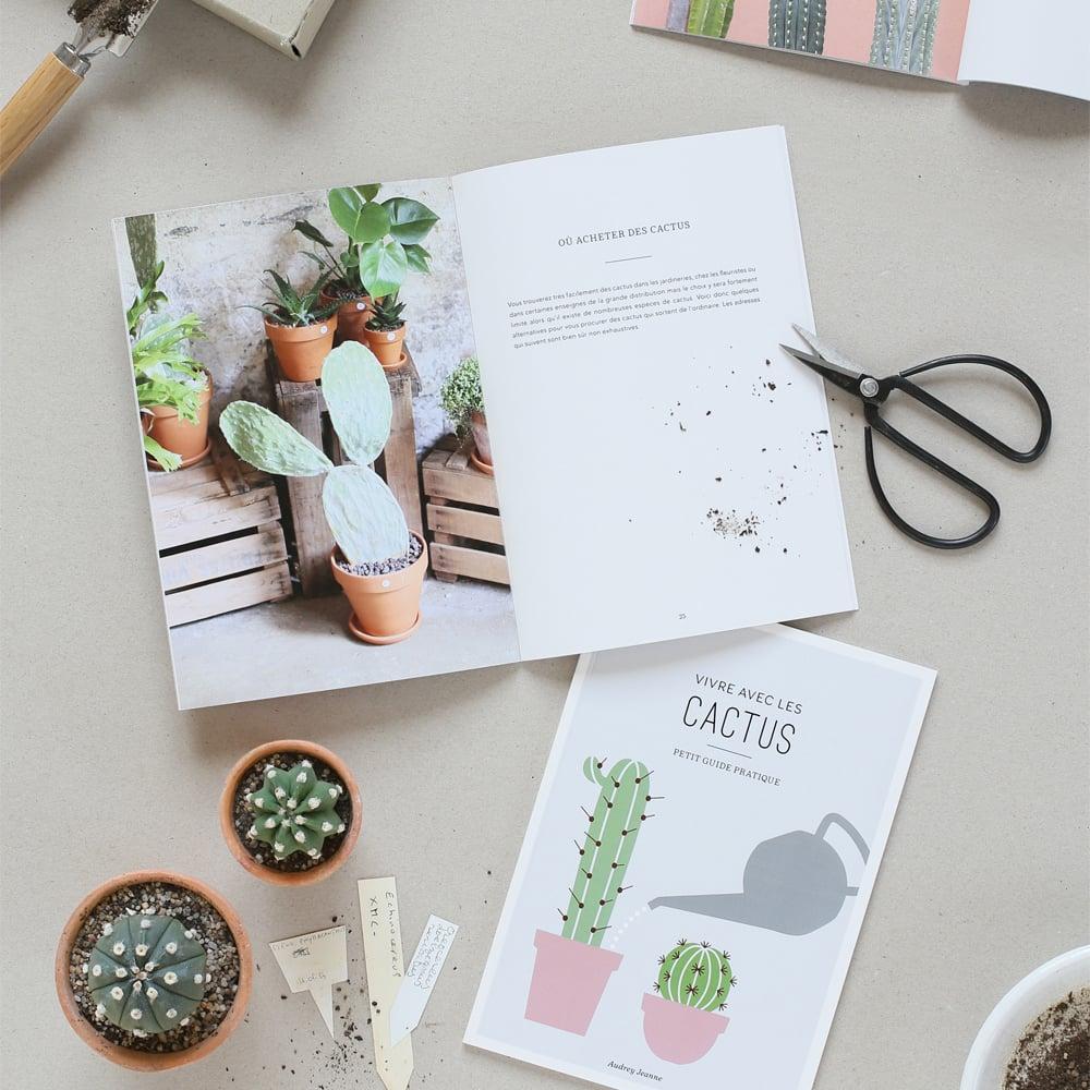 Image of Livre Vivre avec les cactus