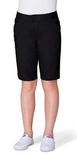 Image of Girls French Toast Bermuda Short - Black