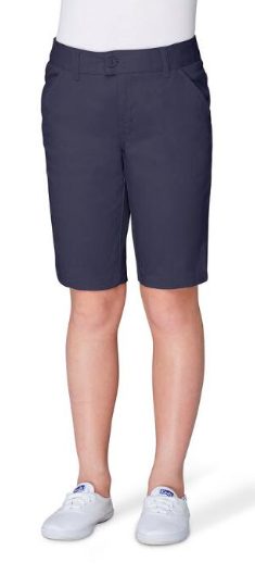 Image of Girls French Toast Bermuda Short - Navy