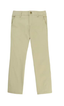 Image of Straight Leg Twill Pant - Khaki