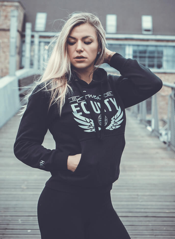 Image of SWEAT EQUITY HOODIE | BLACK