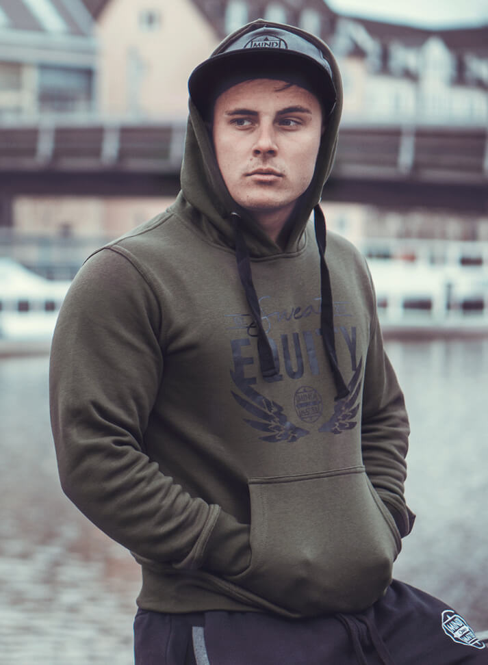 Image of SWEAT EQUITY HOODIE | OLIVE GREEN