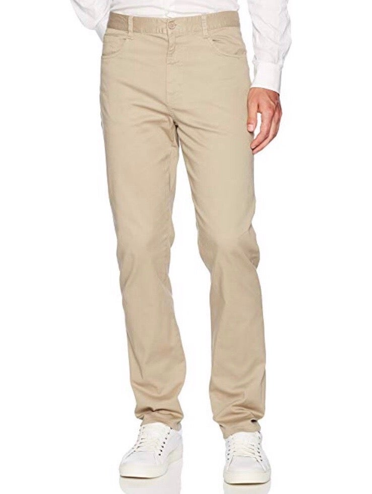 Image of Young Men Lee Skinny Stretch 5 Pocket Pant - Khaki