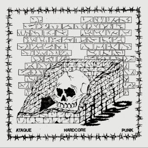 Image of MURO - ATAQUE HARDCORE PUNK 12""