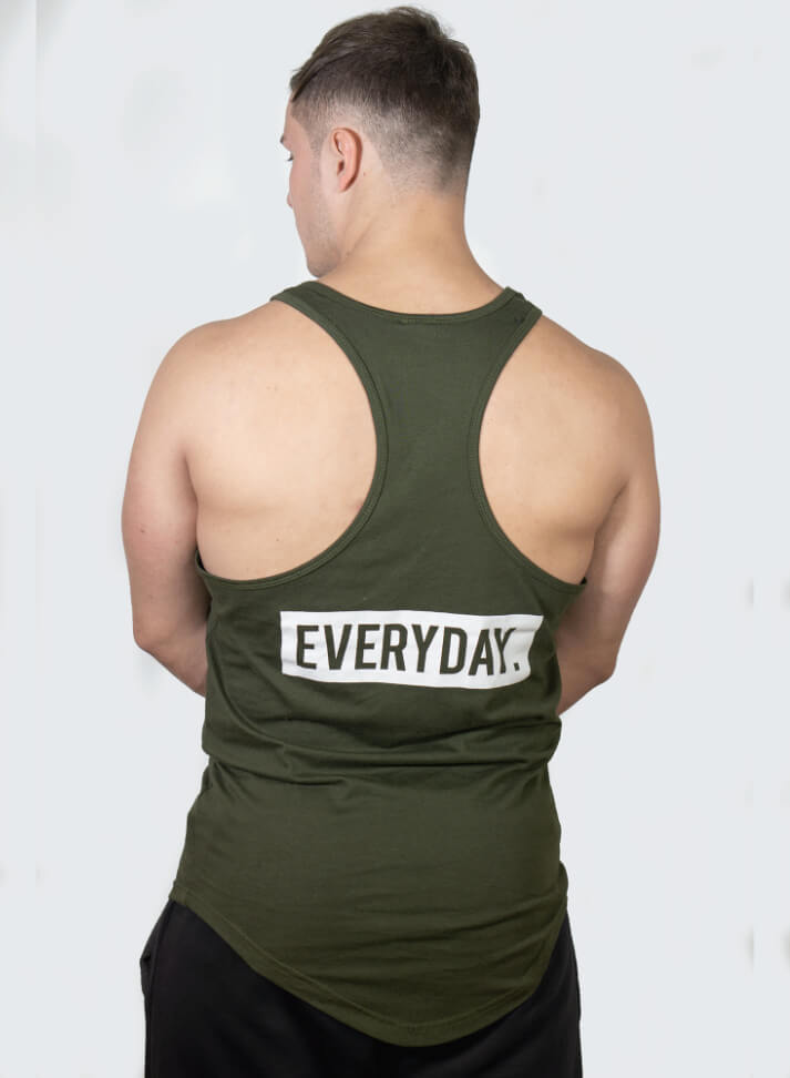 Image of PUT IN THE HOURS TANKTOP | OLIVE