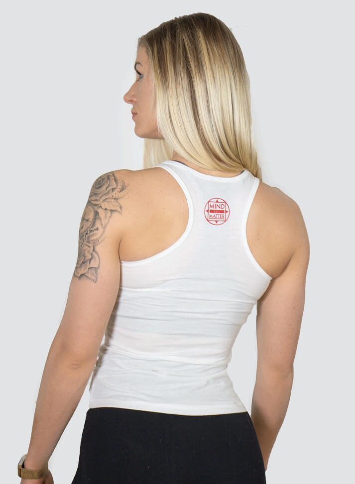 Image of SWEAT EQUITY WOMAN TANKTOP |WHITE
