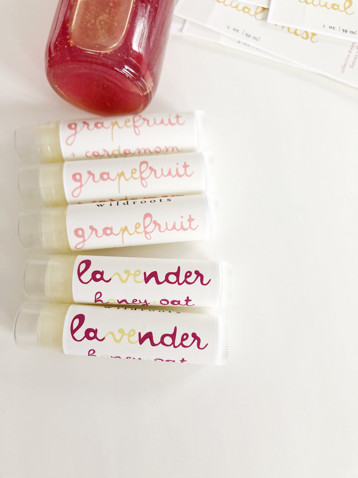 Image of :HERBAL LIP BALM: