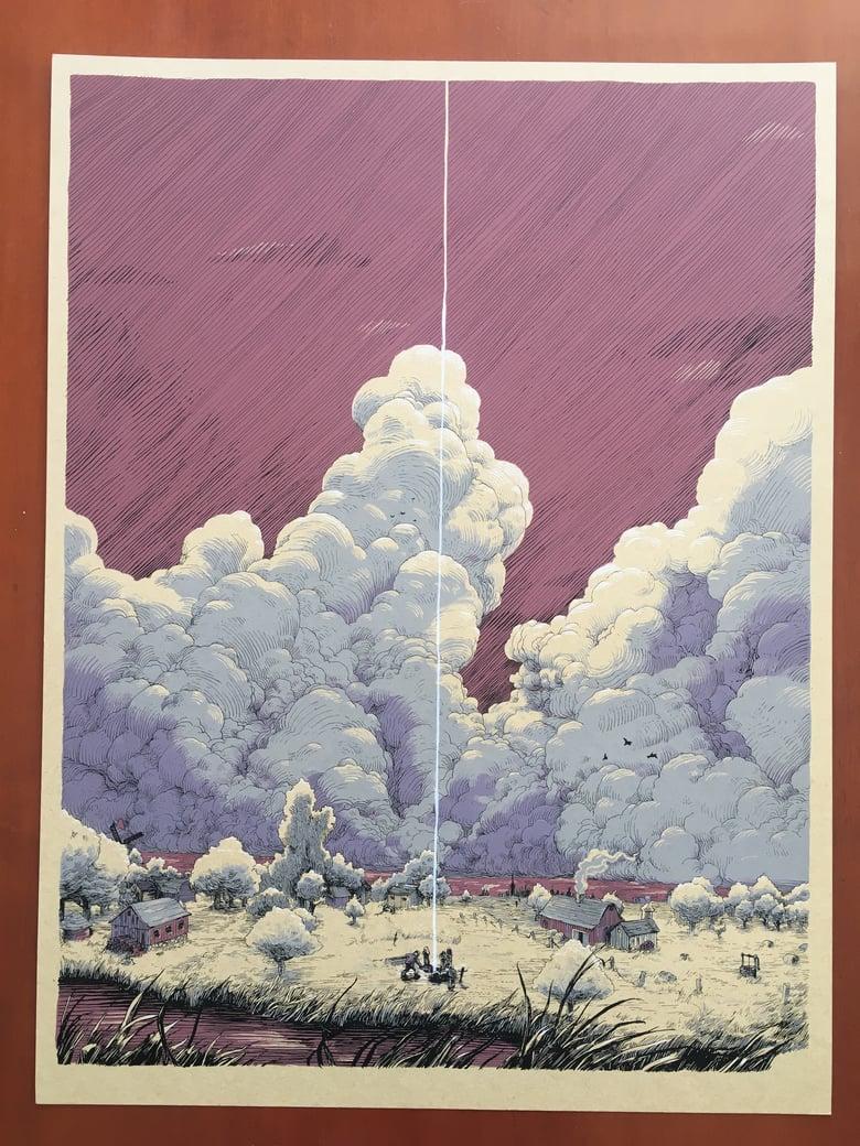 Image of A Burial (Art Print)