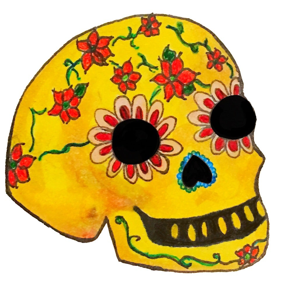 Image of Sugar skull stickers