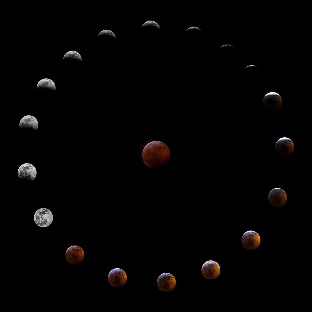 Image of Super Blood Wolf Moon Lunar Eclipse