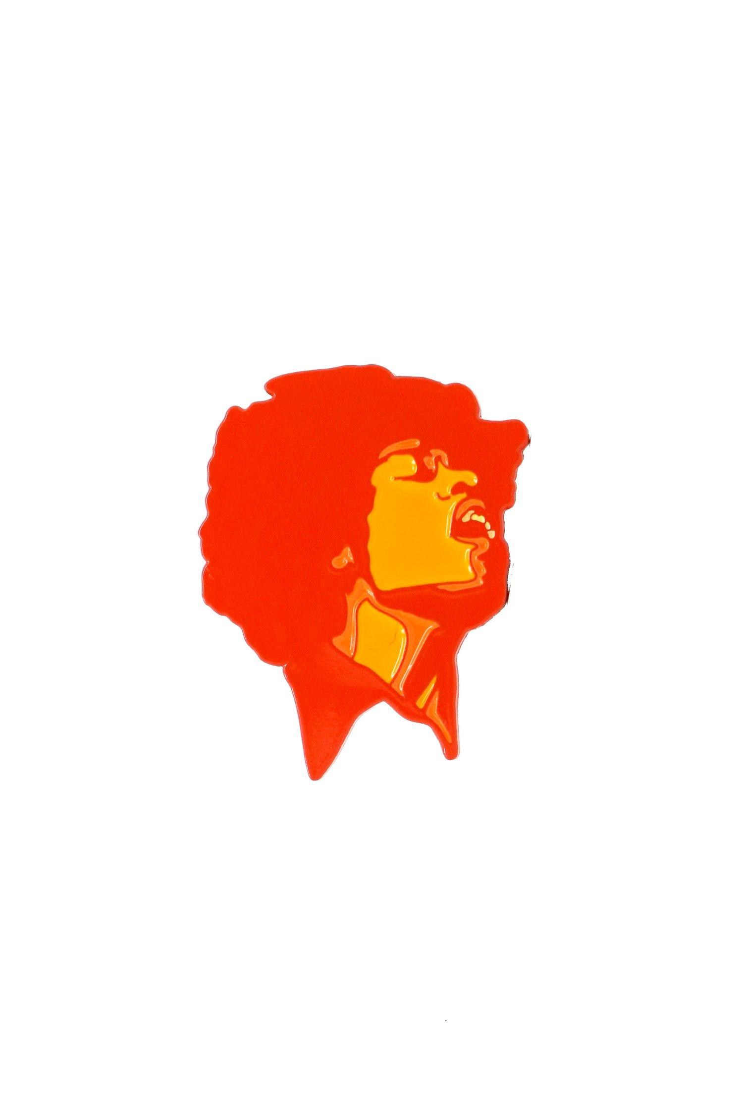 Image of Jimi Hendrix - Electric Ladyland Enamel Pin