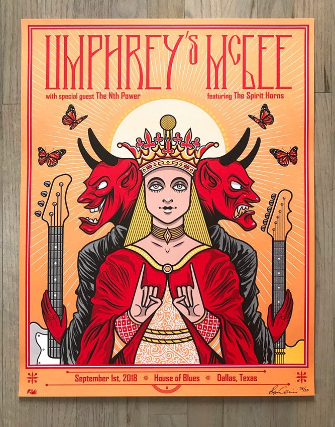 Image of Umphrey's Mcgee Gig Poster