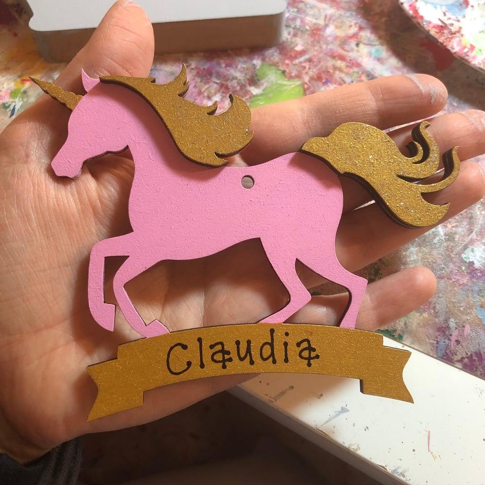 Image of Unicorn decoration