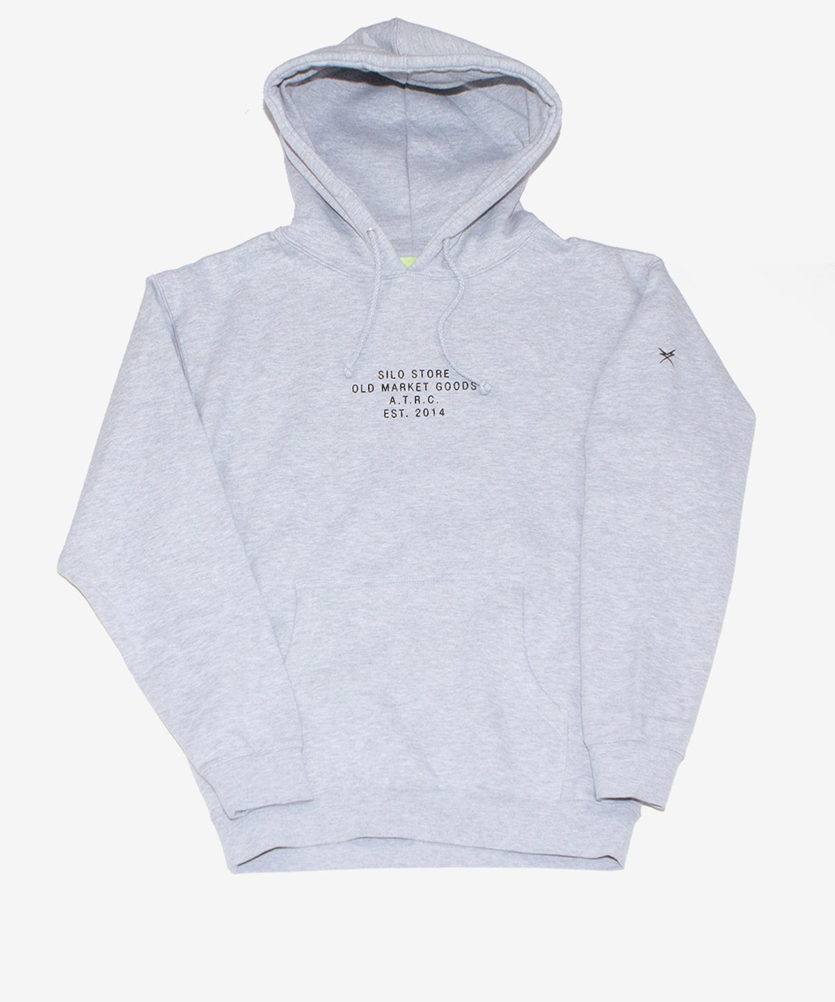 Image of SILO_SOUVENIR HOODIE :::HEATHER GREY:::