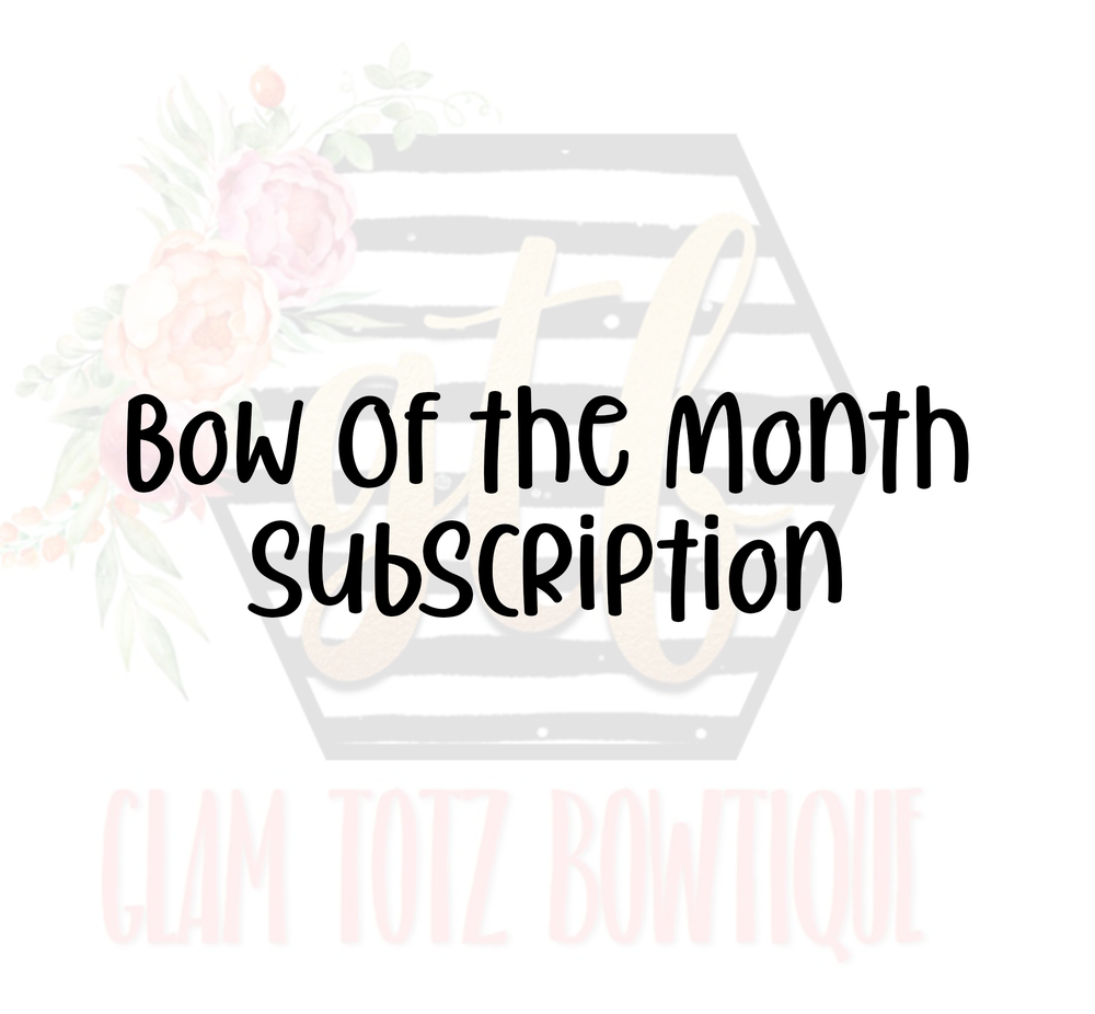 Image of Bow of the Month Subscription