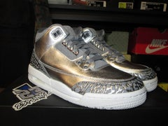 "Air Jordan III (3) Retro Premium HC ""Metallic Silver"" - areaGS - KIDS SIZE ONLY"