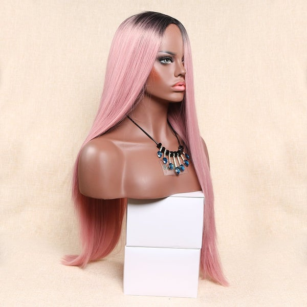 Image of Humar Hair CandyPink Ombre Wig