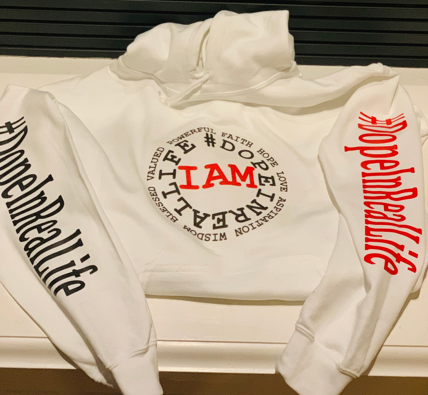Image of I AM Pull Over Hoodie
