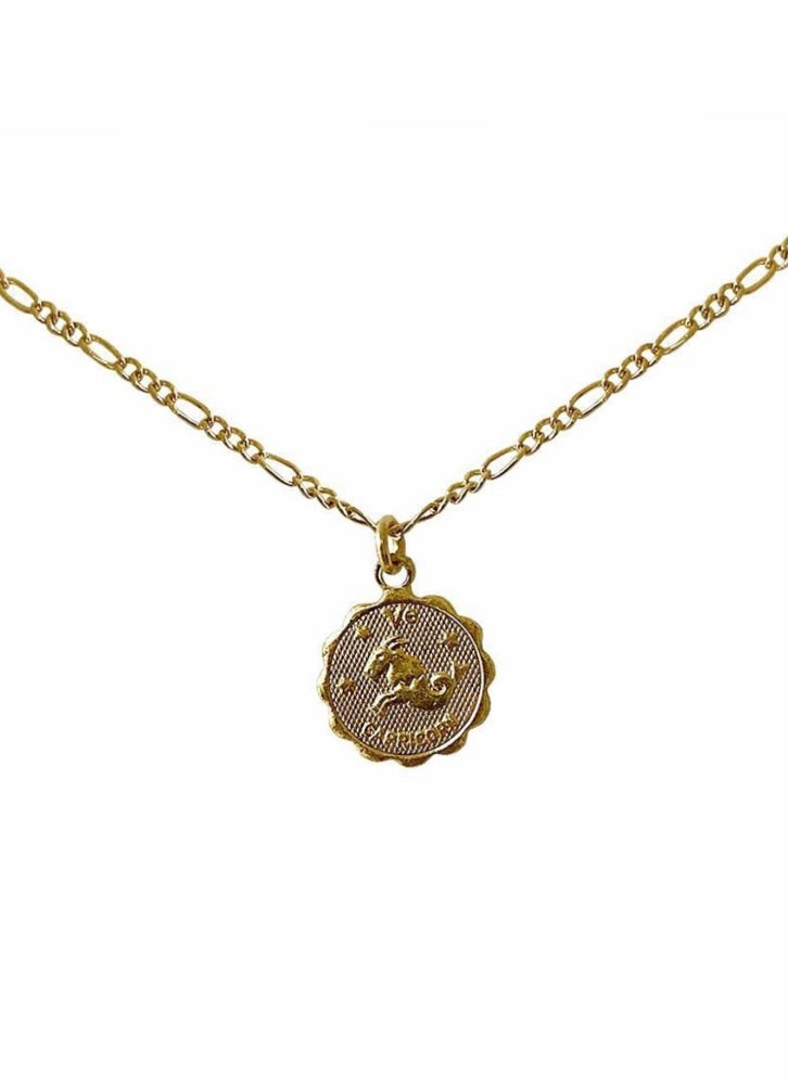Image of Zodiac Charm Necklace