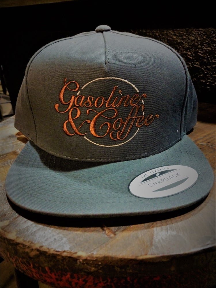 Image of Genuine Gasoline & Coffee SnapBack FlatBill Classics Hat