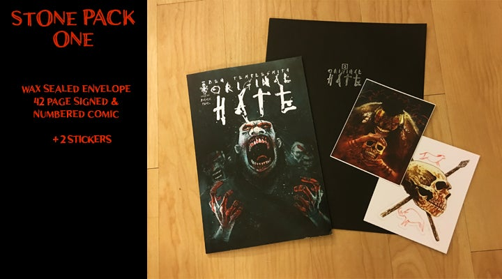 Image of ORIGINAL HATE #2 & STONEPACKS