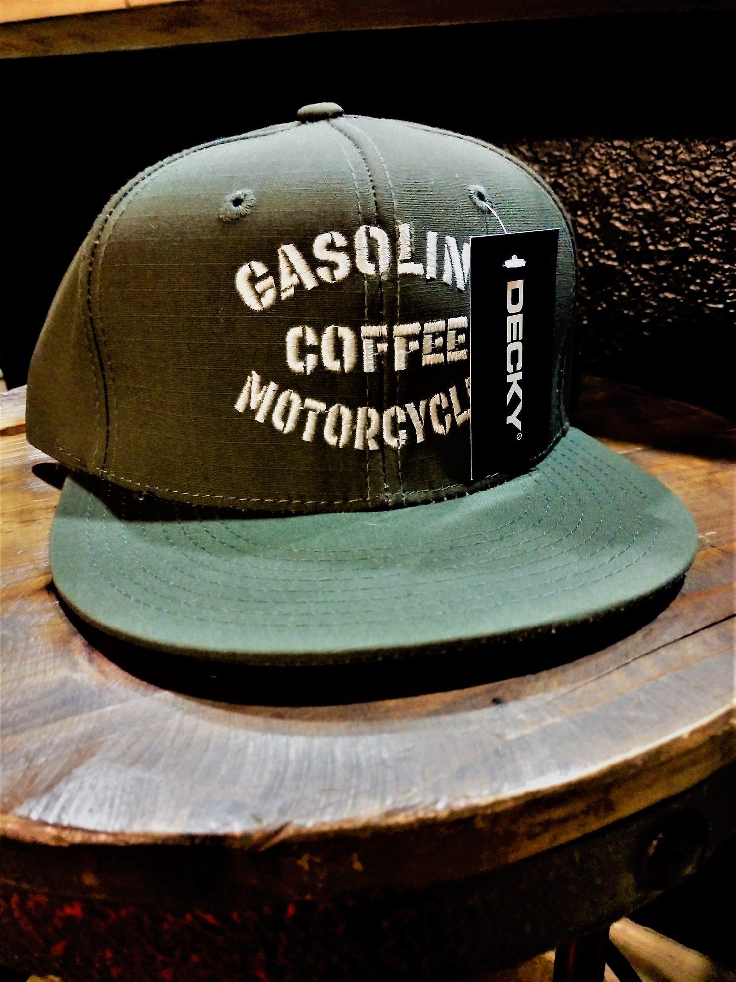 Image of Genuine Army Green GCM Decky SnapBack FlatBill Hat