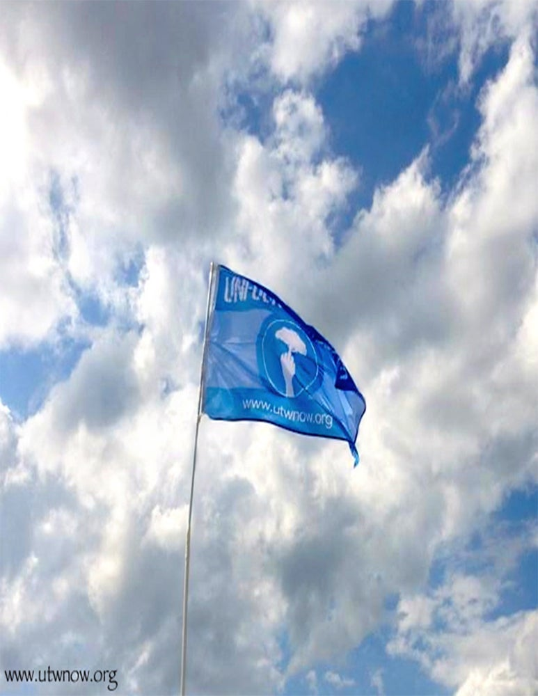 "Image of OFFICIAL  UTW ""FINGERTREE"" FLAG"