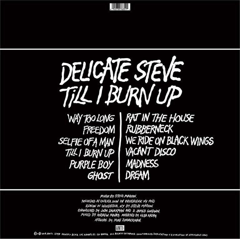 Image of Till I Burn Up CD