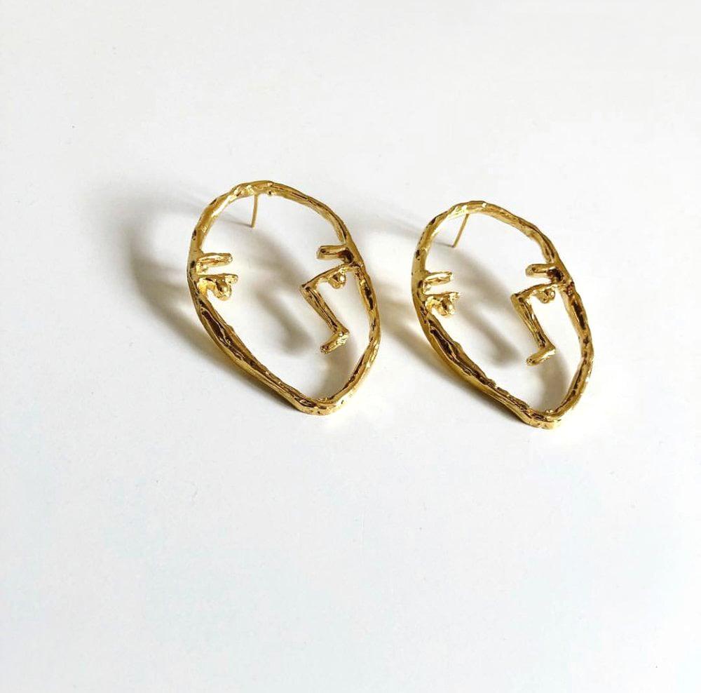 Image of FACE° earrings