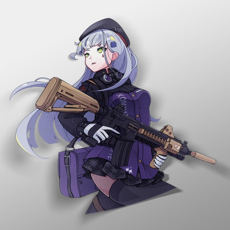 Image of HK416 Diecut