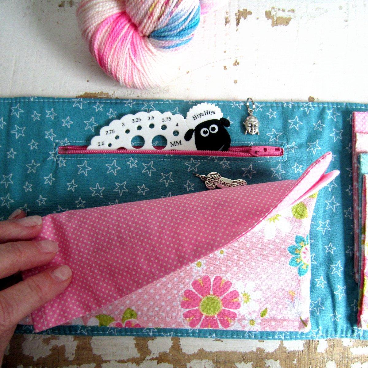 Image of Tutoriel de la Pochette Claire pour ranger les aiguilles à tricoter circulaires