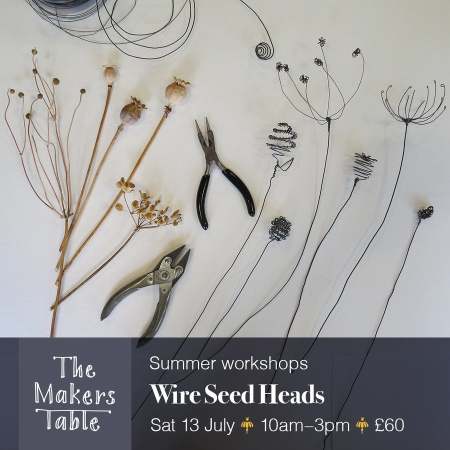 Image of Wire Seed Heads Workshop