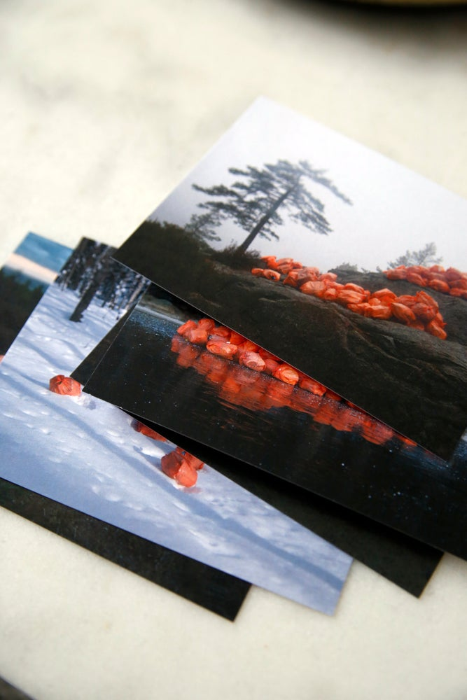 Image of Wrapped up - Postcards