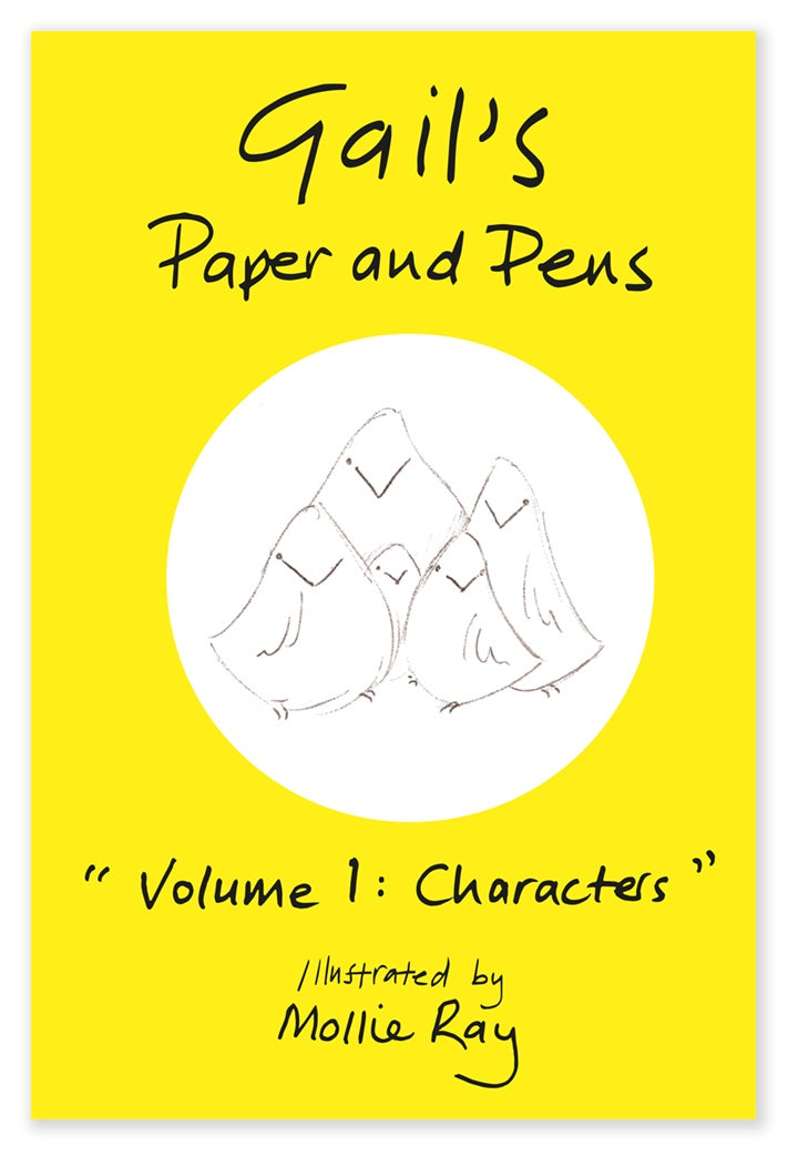 Image of Gail's Paper and Pens - Volume 1: Characters