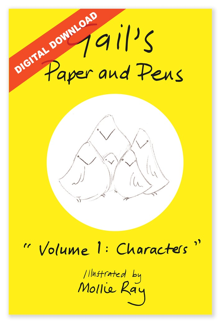 Image of Gail's Paper and Pens - Volume 1 DIGITAL DOWNLOAD
