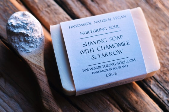 Image of Shaving bar with chamomile & yarrow