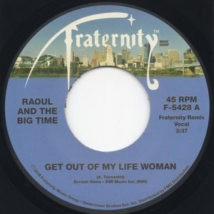 "Image of Get Out Of My Life Woman (Fraternity Remixes) - 7"" Vinyl"